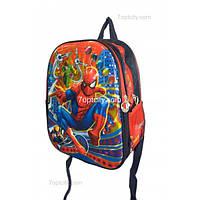 Рюкзак школьный ( спиннер в подарок) для мальчика Человек - Паук G1608-1226a
