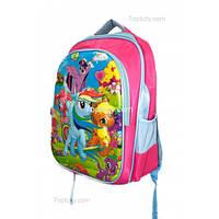 Рюкзак школьный ( спиннер в подарок) для девочки Мой маленький Пони G1608-1512a
