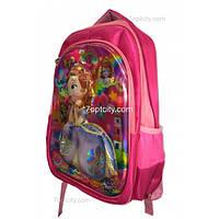Рюкзак школьный ( спиннер в подарок) для девочки София G1608-1512c