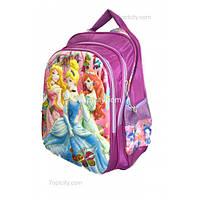 Рюкзак школьный ( спиннер в подарок) для девочки Принцессы G1608-1636a