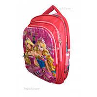 Рюкзак школьный ( спиннер в подарок) для девочки Барби G1608-1636b