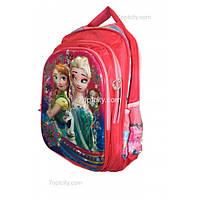 Рюкзак школьный ( спиннер в подарок) для девочки Холодное сердце G1608-1636d