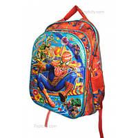 Рюкзак школьный ( спиннер в подарок) для мальчика Человек - Паук G1608-1637f
