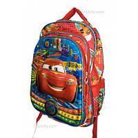 Рюкзак школьный ( спиннер в подарок) для мальчика Тачки G1608-1637j
