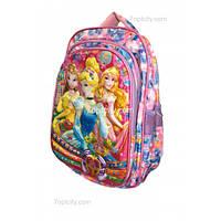 Рюкзак школьный ( спиннер в подарок) для девочки Принцессы G1608-1637d
