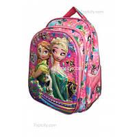 Рюкзак школьный ( спиннер в подарок) для девочки Холодное сердце G1608-1637i
