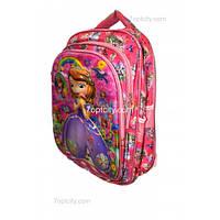 Рюкзак школьный ( спиннер в подарок) для девочки София G1608-1637g