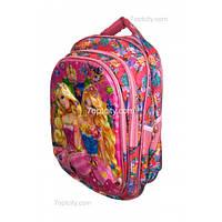 Рюкзак школьный ( спиннер в подарок) для девочки Барби G1608-1637k