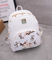 Рюкзак белый цветной