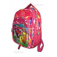Рюкзак школьный ( спиннер в подарок) для девочки Мой маленький Пони G1608-1510a