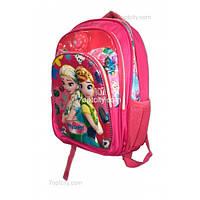 Рюкзак школьный ( спиннер в подарок) для девочки Холодное сердце G1608-1510c