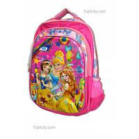 Рюкзак школьный ( спиннер в подарок) для девочки Принцессы 10 G1608-1612c