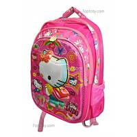 Рюкзак школьный ( спиннер в подарок) для девочки Hello Kitty G1608-1612e