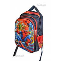 Рюкзак школьный ( спиннер в подарок) для мальчика Человек - Паук G1608-1636f