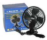 Вентилятор 5' 12v пластиковый HF-333 поворотный