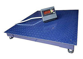 Платформенные напольные  весы  ЗЕВС-Стандарт ВПЕ-4 (1000х1000 мм), НПВ: 3000кг