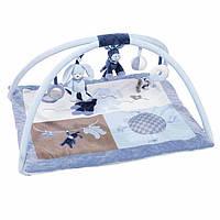 Развивающий коврик для малыша nattou 321242 с дугами alex и bibou