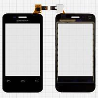 Сенсор (тачскрин) для Prestigio PAP3500 DUO MultiPhone/DOOV D600 черный