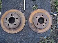 Задние тормозные диски лагуна