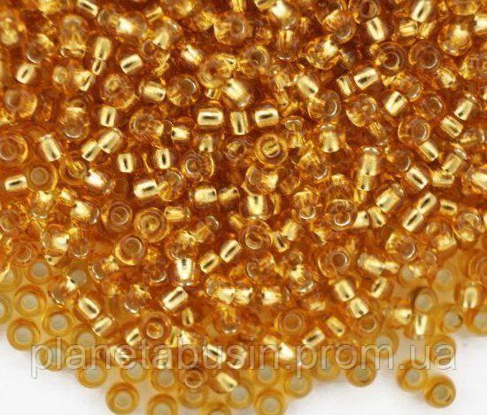 Бисер №10 Preciosa (Чехия), 17050, 10 грамм, Цвет: Золотистый, фото 2