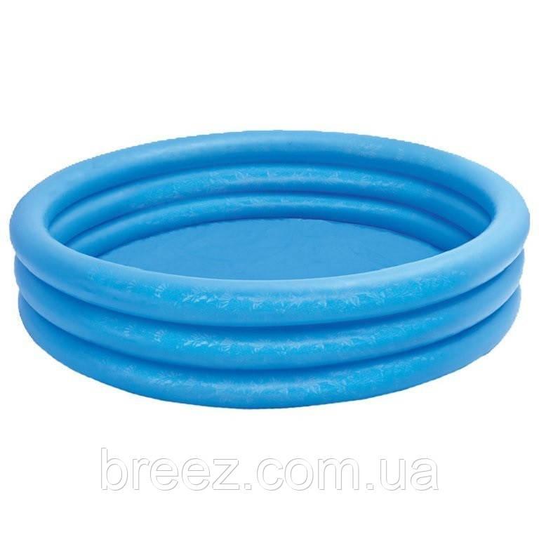 Детский надувной бассейн Intex 58426 Синий кристалл