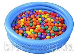 Детский надувной бассейн Intex 58426 Синий кристалл, фото 3