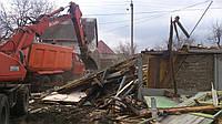 Снос загородных домов. Снос здания стоимость. Демонтаж дачных домов. Демонтаж деревянных домов стоимость., фото 1
