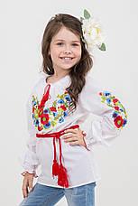 Необыкновенная вышитая блуза для девочки, фото 3