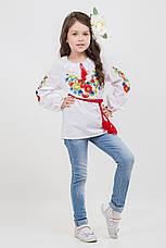 Необыкновенная вышитая блуза для девочки, фото 2
