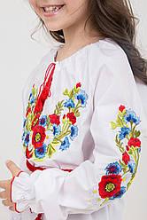 Незвичайна вишита блуза для дівчинки