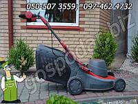 Фирменная электрическая газонокосилка Variolux 1600 Вт с металлическим корпусом из Германии