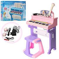 Детский рояль со стульчиком от сети CV8818-206CD ***