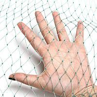 Агросетка для защиты от птиц,насекомых и др. вредителей, размер ячейки 18мм, диаметр шнура 0,8мм