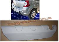 Задний дифузор под покраску на Dacia Sandero 2007-2013