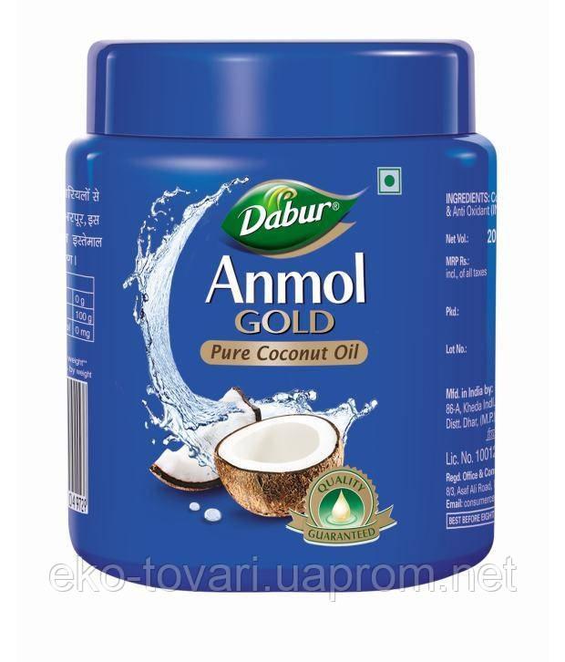 Кокосовое масло для волос Dabur Anmol Gold Coconut Hair Oil (Дабур Ватика), 250 мл