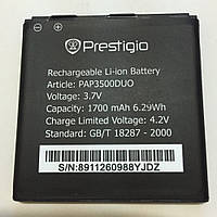 Аккумулятор (Батарея) Prestigio PAP3500 DUO MultiPhone (1700 mAh) Оригинал