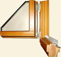 Деревянные окна от 68 до 110 брус