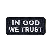 "Нашивка ""In God We Trust"""
