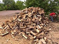 Дрова сухие колотые дуб акацыя граб ольха сосна