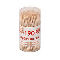 Зубочистки 65 мм в стаканчику 190 шт Linpac