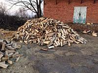 Рубаные дрова дуб акацыя граб ольха Киев с доставкой