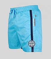 Мужские шорты Tommy Hilfiger 4085 Бирюзовые