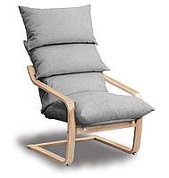 Супер комфорт кресло Серый, Бук