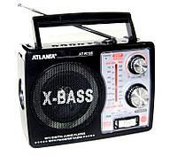 Радиоприемник ATLANFA радио от сети FM SW AM аккумуляторный R785