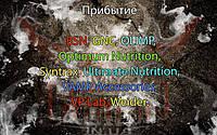 Поступление товара: BSN, GNC, OLIMP, Optimum Nutrition, Syntrax, Ultimate Nutrition, VAMP Accessories, VP Lab, Weider.