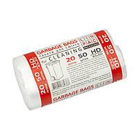 Пакет для смiття  20 L HDPE  50 шт міцні Лінпак