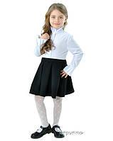 Классическая черная школьная юбка