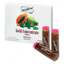 Сыворотка «Золотой концентрат» для замедления роста волос 20 ампул/DEPIL 20 AMP. GOLD CONCENTRATE