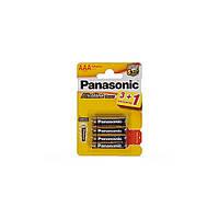 Батарейка Panasonic Alkaline Power AAA BLI 4шт (LR03REB/4B1F)
