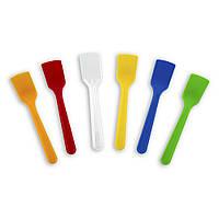Ложка одноразовая пластиковая для мороженого 8,5 см 1000 шт/уп, Pap Star